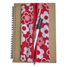 Elasticated Notebook Pencil Holder - A4 and A5