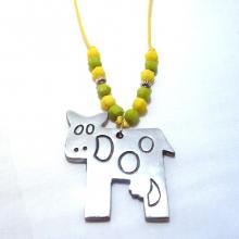 Cow Pendant Necklace 2