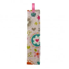 Fabric Bookmark - Flowers
