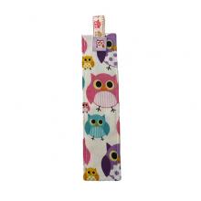 Fabric Bookmark - Owls