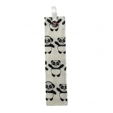 Fabric Bookmark - Panda