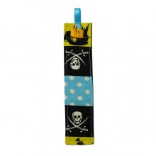 Fabric Bookmark - Pirates