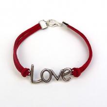 Love Charm Bracelet - Red