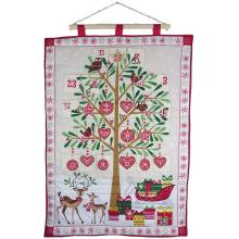 Large Fabric Christmas Advent Calendar