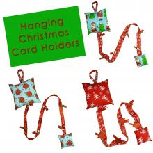 Hanging Christmas Card Holders