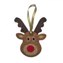 Reindeer Felt Christmas Decorations