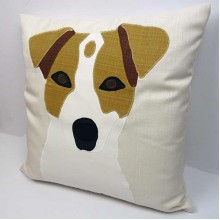 Personalised Applique Dog Pet Animal Cushion Covers