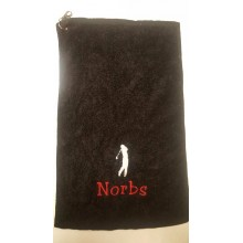 Personalised Golf Bag Towel