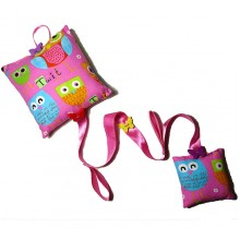 Hair Accessory Hanging - Pink Owls