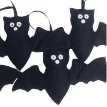 Hanging Bat Decoration
