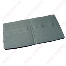 Plain Wallet - Smoke Grey