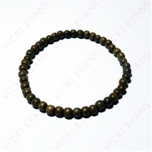 Greywood Bead Bracelet 5mm