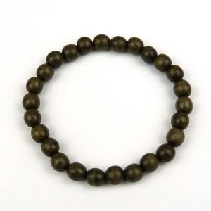 Greywood Bead Bracelet 8mm