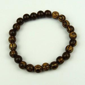 Patikan 8mm Wood Bead Bracelet