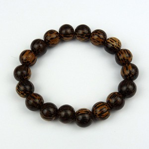 Patikan 12mm Wood Bead Bracelet