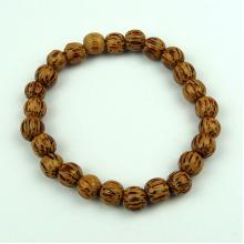 Palmwood 8mm Wood Bead Bracelet