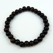 Tiger Ebony 8mm Bead Bracelet
