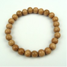 Rosewood 8 mm Wood Bead Bracelet