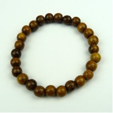 Robles 8mm Wodd Bead Bracelet