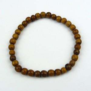 Robles 6mm Wood Bead Bracelet