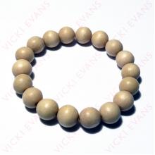 Whitewood Bracelet 12mm