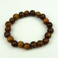 Robles Wood Bead Bracelet 10mm