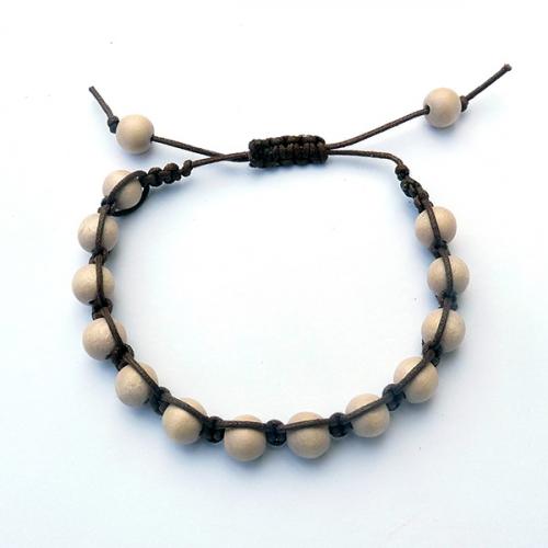 mens wood bead square knot bracelets. Black Bedroom Furniture Sets. Home Design Ideas