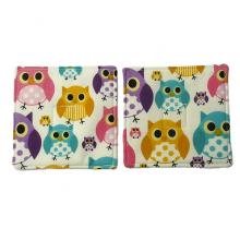 Owl Fabric Coaster Set