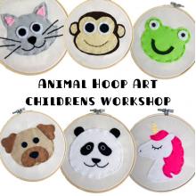 Animal Hoop Art - Childrens Workshops
