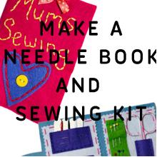 Make a Needle Book and Sewing Kit