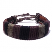 Men's Leather Corded Bracelet 3