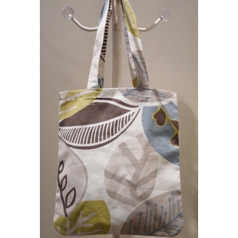 Small - Large Leaf Design Bag