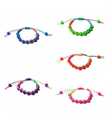 Neon Multi Colour Bracelets