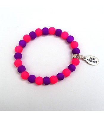 Pink and Purple Best Friends Bracelet