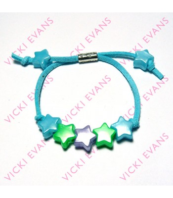 Star Bracelets - Blues