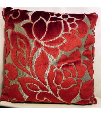 Flock Flower Cushion Cover