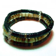 Multi Layer Hammer Shell Bracelets