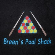 Embroidered Towel - Text and Image (Snooker/Pool/Golf/Tennis)
